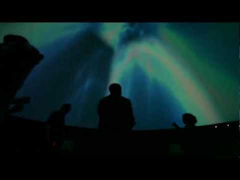 Space Cruiser: Videojuego en un Planetario para 200 personas