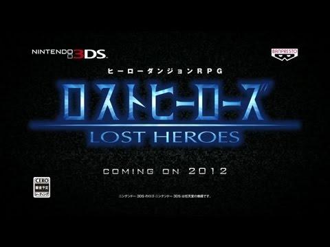 Trailer japonés del videojuego Lost Heroes para N3DS