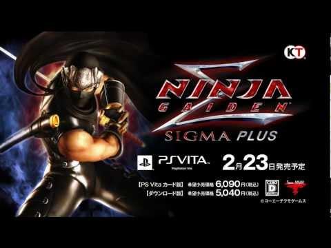 Trailer japonés de Ninja Gaiden Sigma Plus para el PS Vita