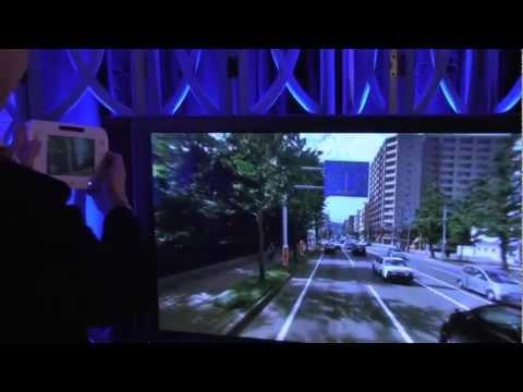 """Demo de la """"vista panoramica"""" de la consola Wii U"""