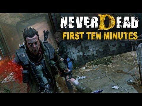 NeverDead: Los primeros 10 minutos.