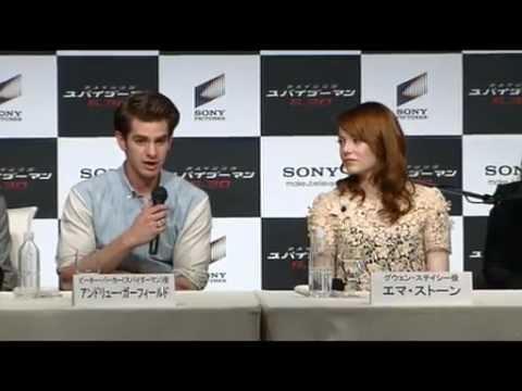 Conferencia de Prensa de The Amazing Spider-Man en Japón