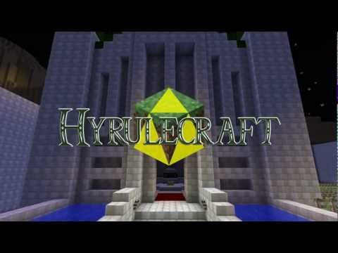 Hyrulecraft: Minecrarft+Zelda (Video)