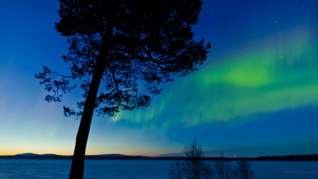 Time Lapse: The Aurora