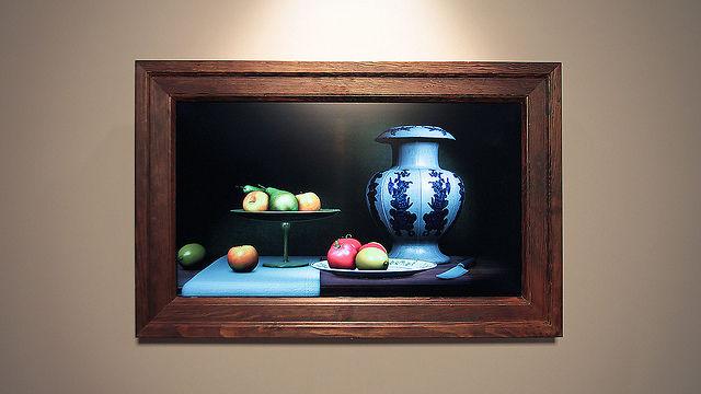 """Pintura interactiva """"Still Life"""""""