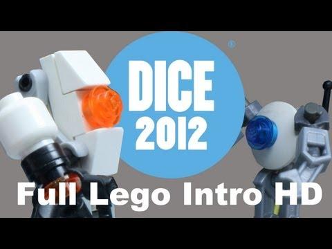 Animación: Lego Video Game Montage (Interactive Achievement Awards)