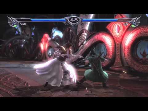 ¿Link y Zelda en Soulcalubur V?
