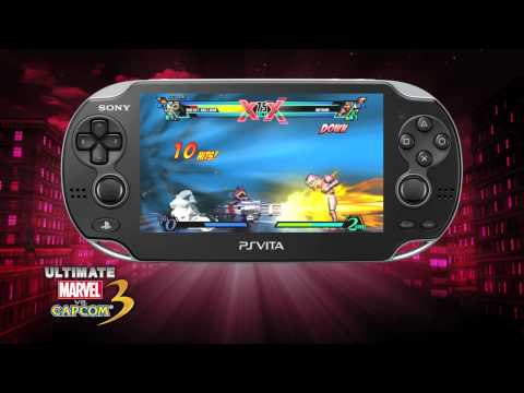Video con gameplay de Ultimate Marvel vs. Capcom 3 (PS Vita)