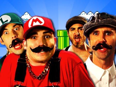 Epic Rap Battles of the History: Mario Bros. VS Wright Bros.
