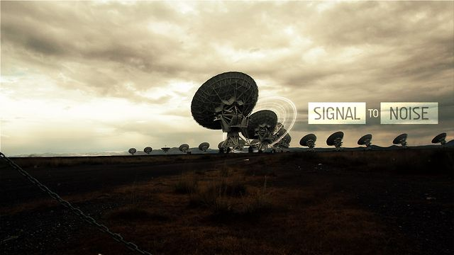 Time Lapse: Signal to Noise