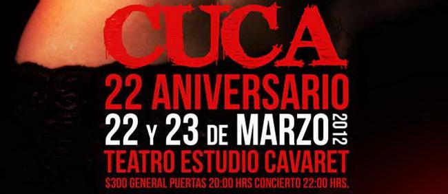 CUCA 22 years