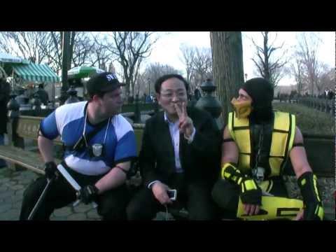 Mortal Kombat VS Street Fighter: EPIC FLASH MOB (by RI0T)
