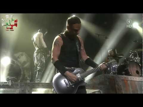 "Rammstein – ""The Beautiful People"" with Marilyn Manson – ECHO Awards 2012"