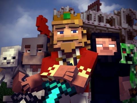 "Video Musical: ""Fallen Kingdom"" – A Minecraft Parody of Coldplay's ""Viva la Vida"""