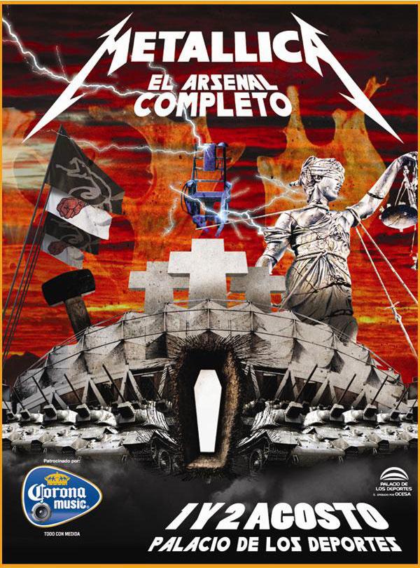 Metallica Palacio - México