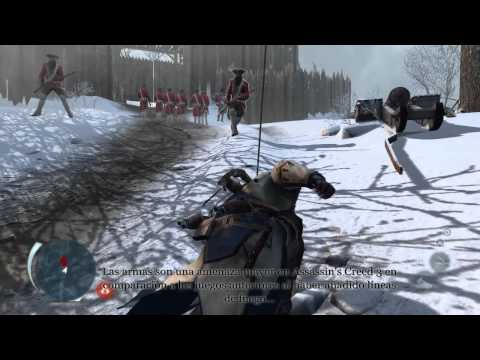 El gameplay de Assassin's Creed III del E3, pero ahora comentado (y subtitulado en español)