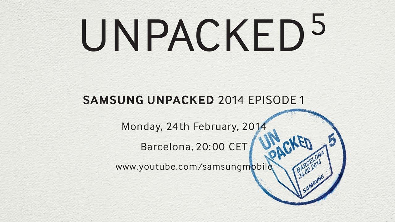 Ve en línea el Samsung UNPACKED 2014 Epi sode 1 (Galaxy S5)