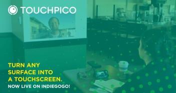 Conoce el TouchPico de Indiegogo