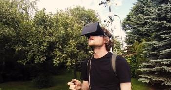 Vision de la vida real en tercera persona usando Oculus Rift