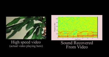 Micrófono visual: Escuchando a través de imagenes en movimiento