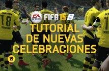 Aprende a realizar las nuevas celebraciones en FIFA 15