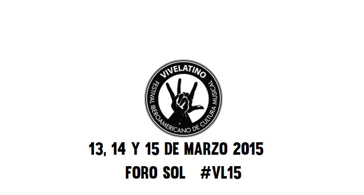 Vive Latino 2015 - Nine Fiction