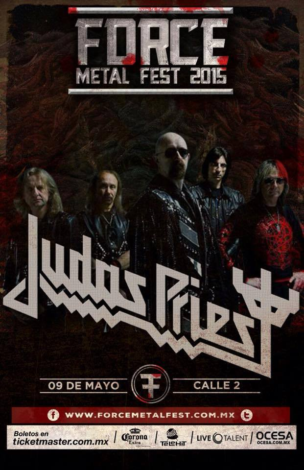 02 Force Metal Fest 2015 - Judas Priest - Over Kill - Nine Fiction