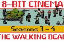 """Animación: La serie de TV """"The Walking Dead"""", si fuera un juego retro (Parte 2 )"""