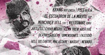 Flyer: cosas punk que pasan en Guadalajara: el musical