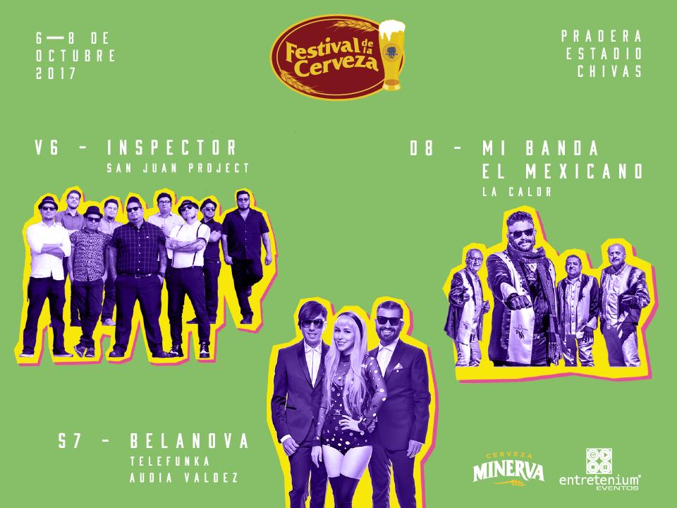 Line Up 2017 - Festival de la cerveza