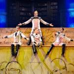 Cirque du Soleil JOYA - Trampo Wall Act 2