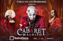 Banner Cabaret Maldito - Guadalajara - Teatro Diana