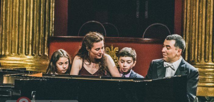 Poema sinfónico y un piano en familia