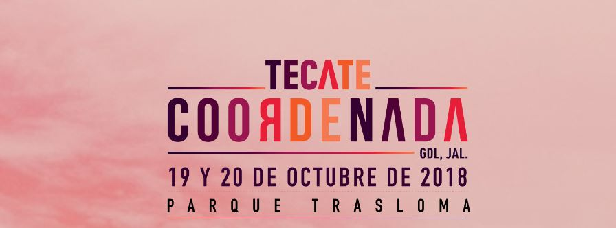 Tecate Coordenada Fest 2018 - Logo - Nine Fiction
