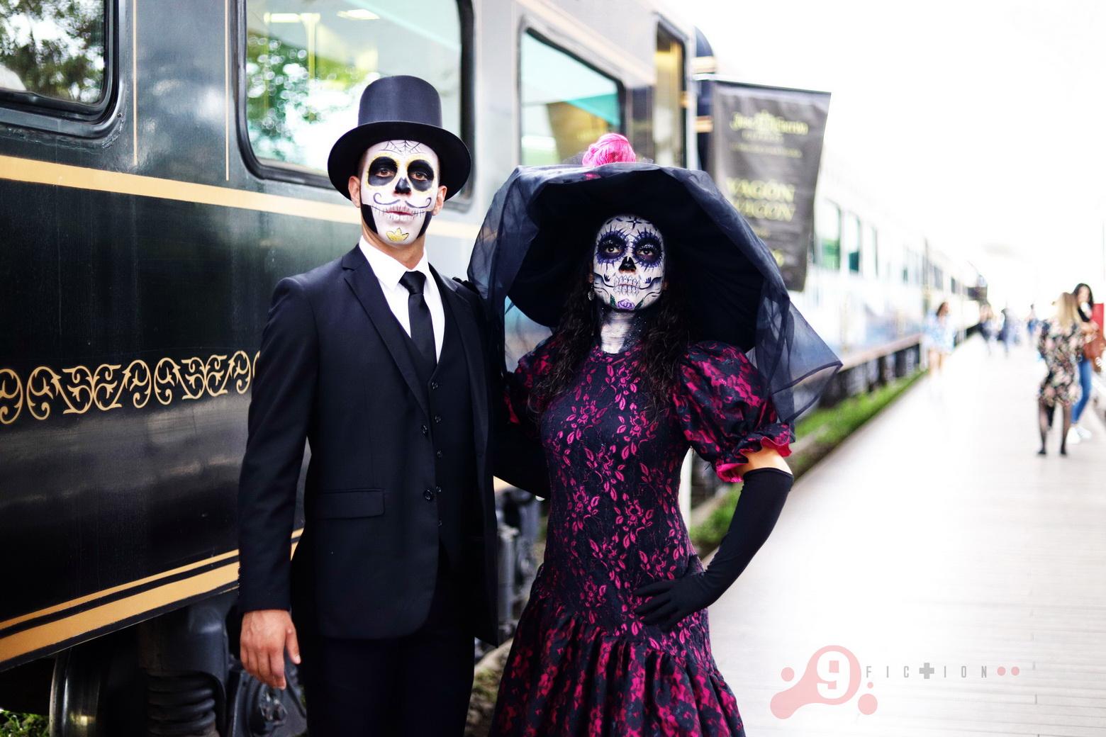 Día de Muertos - Tequila Cuervo Express - Foto Salvador Tabares 023