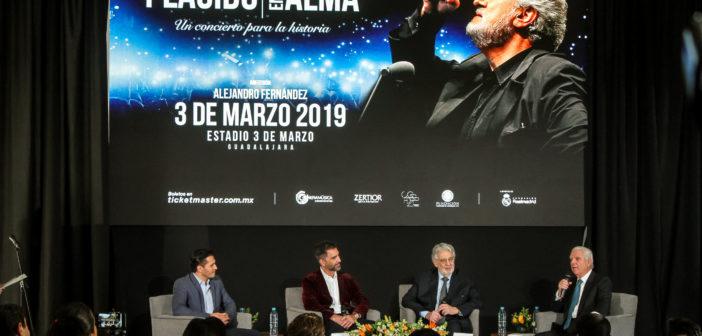 Plácido Domingo y Alejandro Fernández, un concierto para la historia