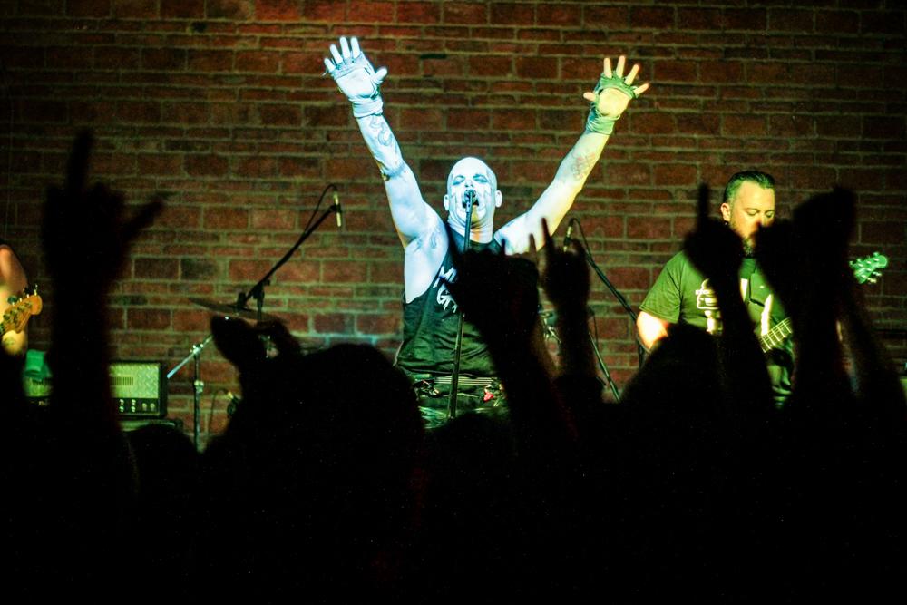 Michale Graves ofreció un ameno show al público tapatío.