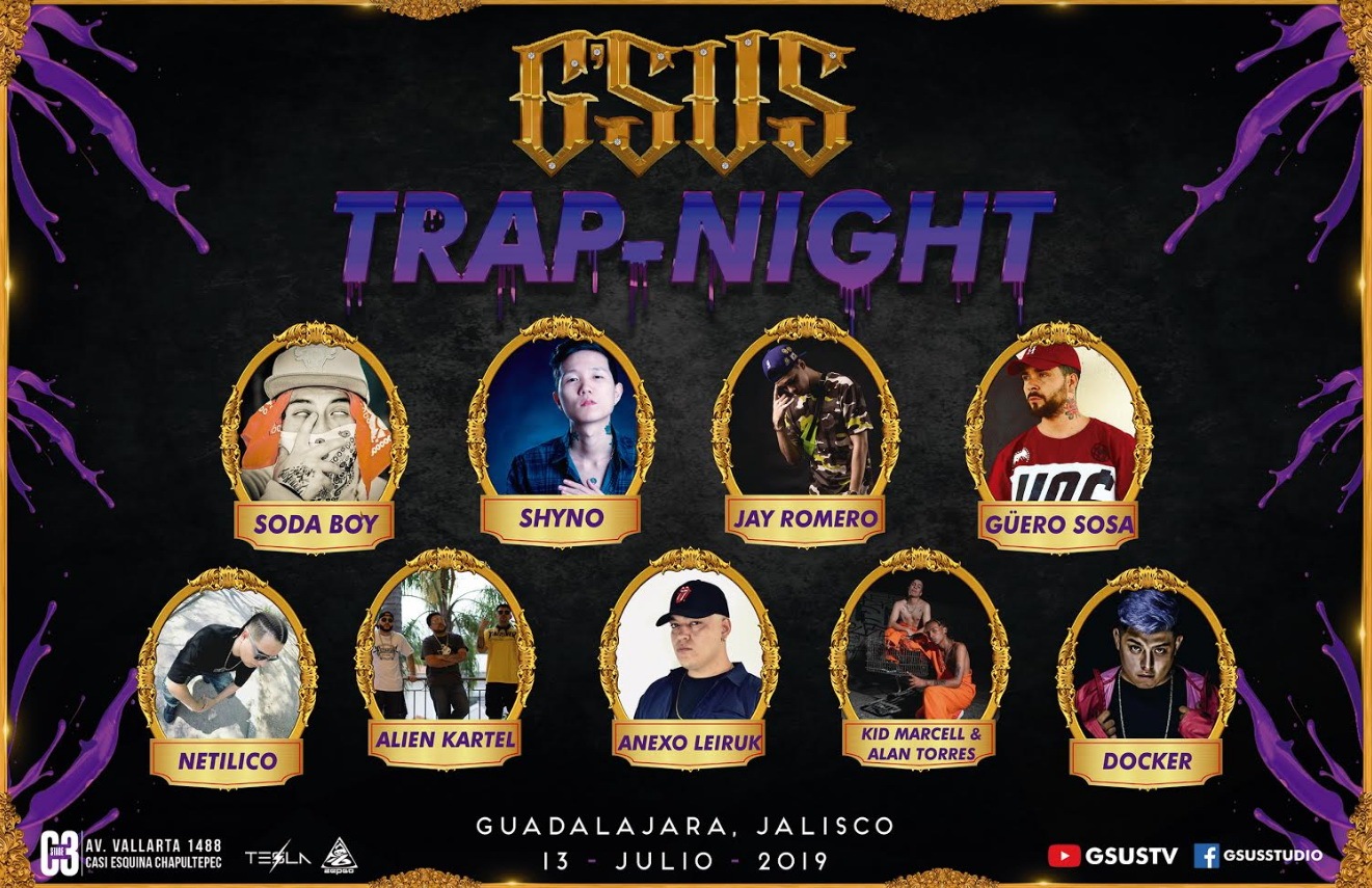 Trap-Night cartel 2019 - c3 stage
