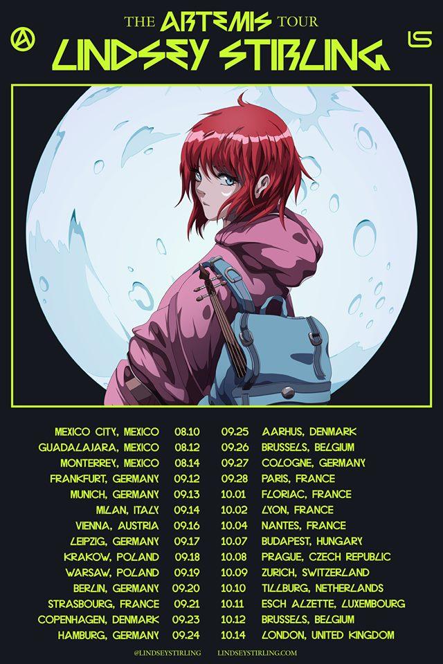 Lindsey Stirling The Artemis Tour - Guadalajara