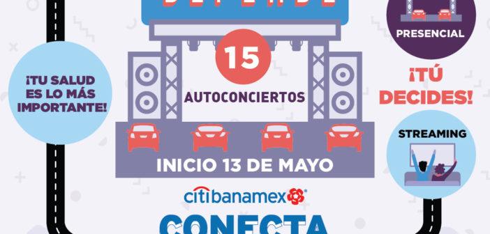 De regreso a los conciertos al volante, continúan los auto conciertos en CDMX