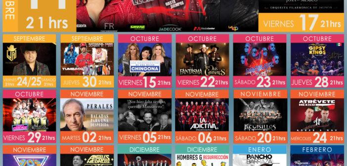 Conoce los eventos que el Auditorio Telmex tiene para ti